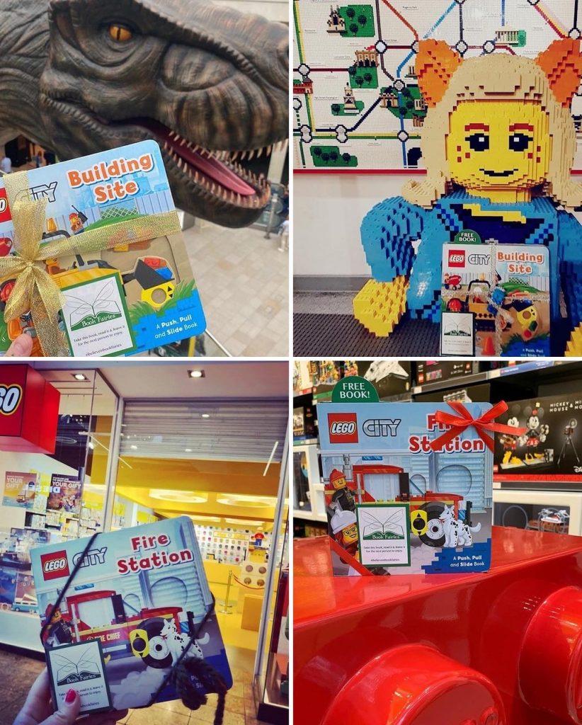 LEGOCity books hidden by book fairies at LEGO locations - LEGO UK