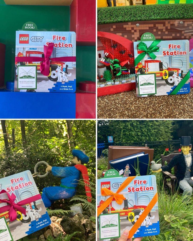 LEGOCity books hidden by book fairies at LEGO locations at LEGOLAND Windsor