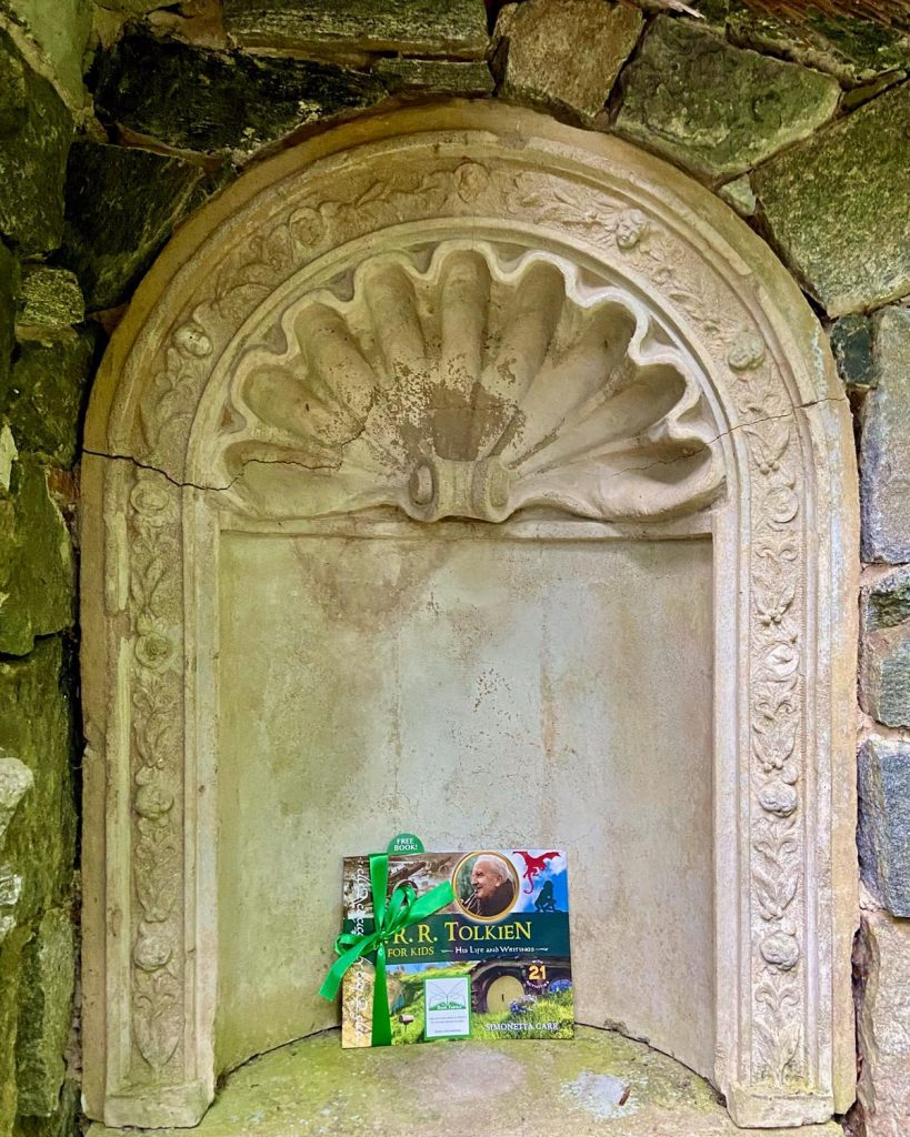 The Book Fairies share copies of J. R. R. Tolkien For Kids in Central Park NYC