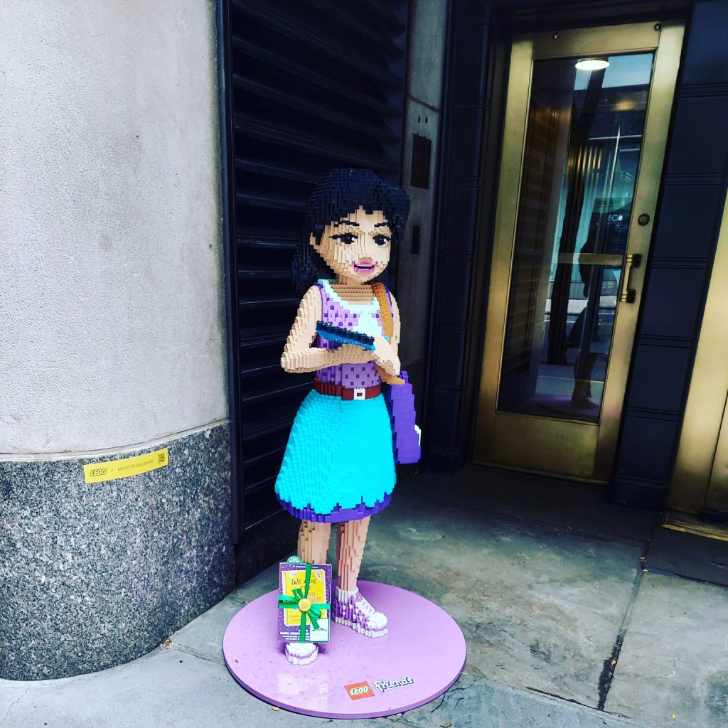 Book Fairies in the US share copies of We Are The Babysitter's Club in New York City