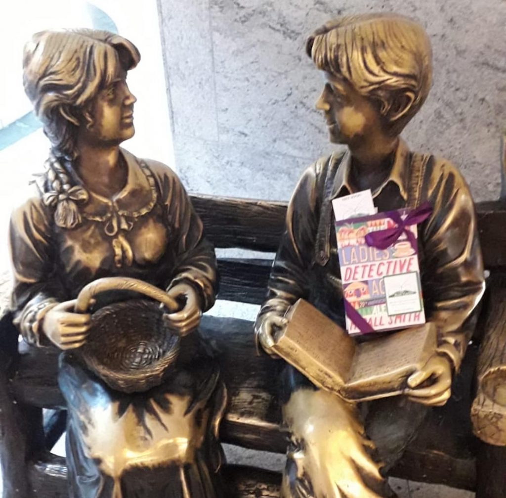 The Book Fairies and Alexander McCall Smith celebrate Friendship Day in Manchester