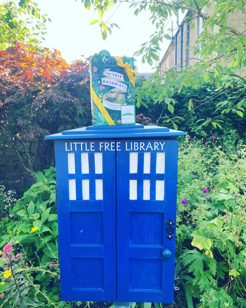 The Fair Botanists makes an early release with The Book Fairies Little Free Library