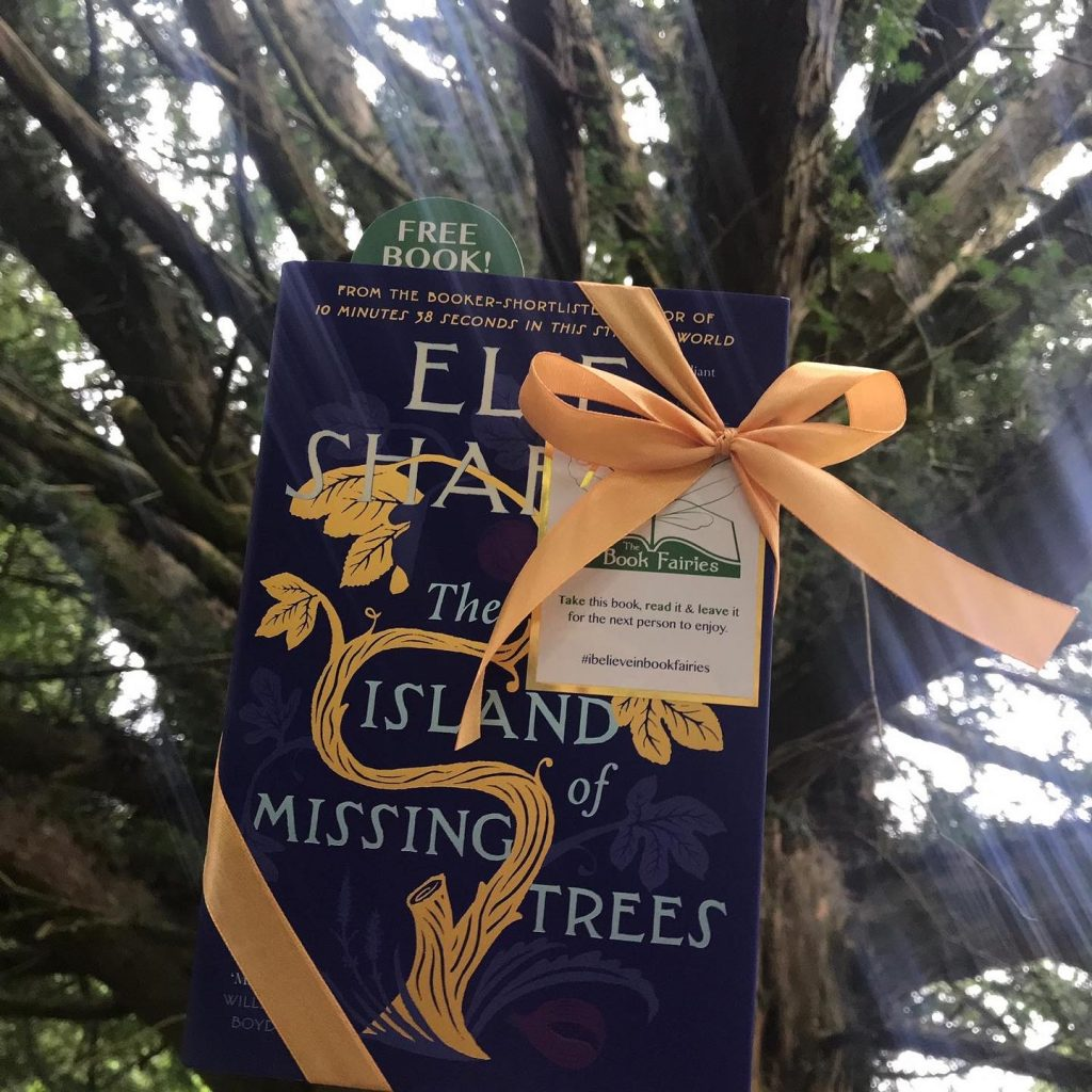 The Book Fairies share The Island of Missing Trees by Elif Shafak in Cheshire