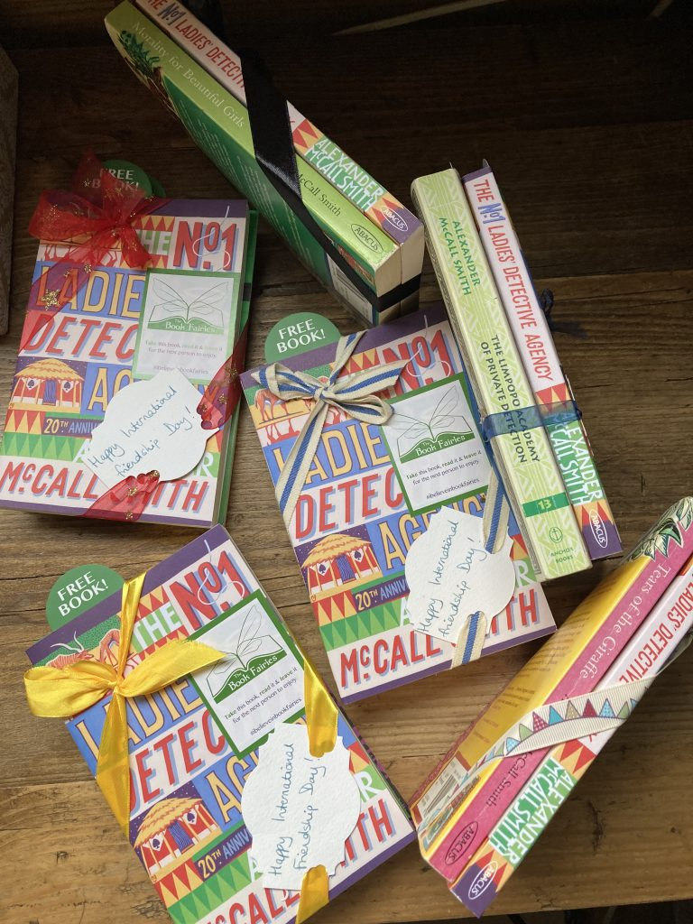The Book Fairies and Alexander McCall Smith celebrate Friendship Day with book bundles