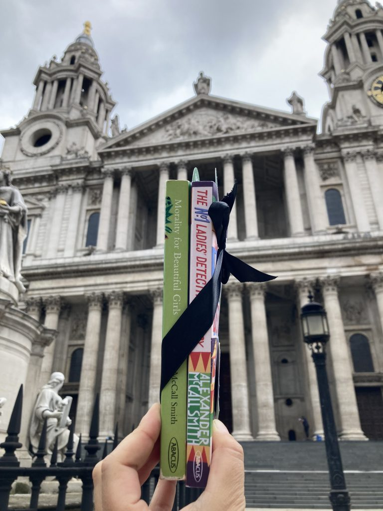 The Book Fairies and Alexander McCall Smith celebrate Friendship Day at St Paul's