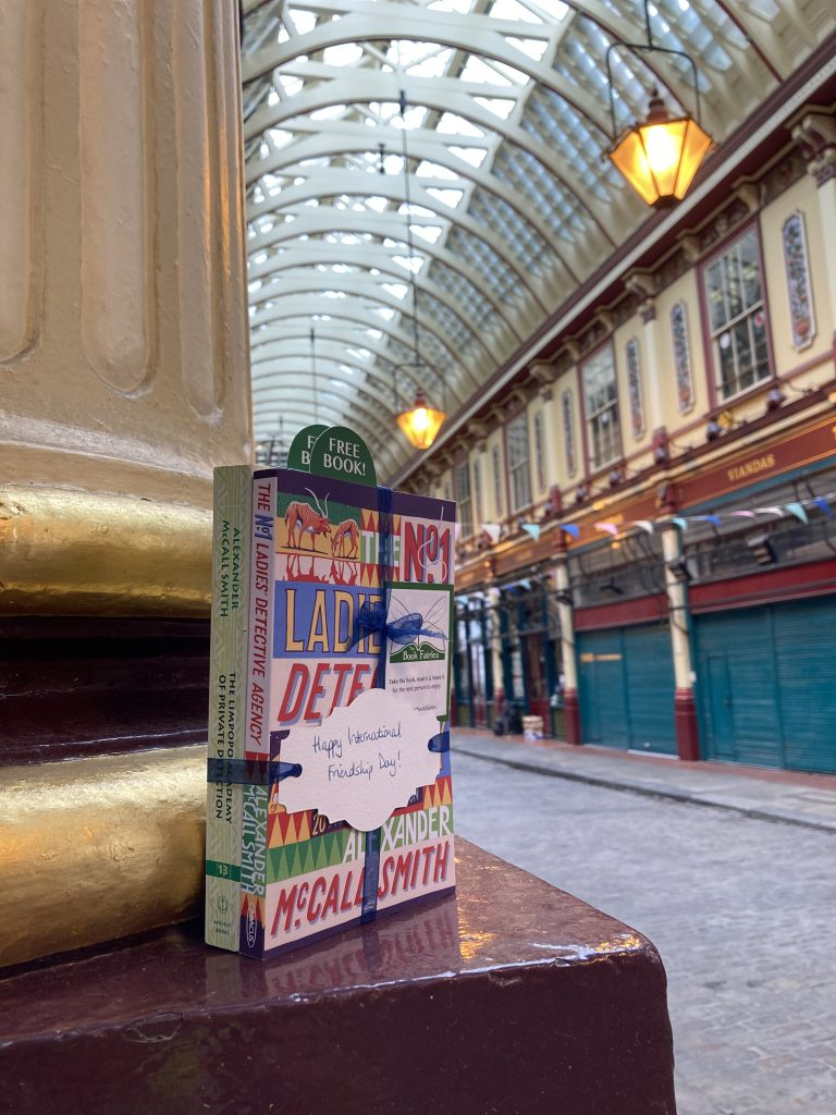 The Book Fairies and Alexander McCall Smith celebrate Friendship Day in London