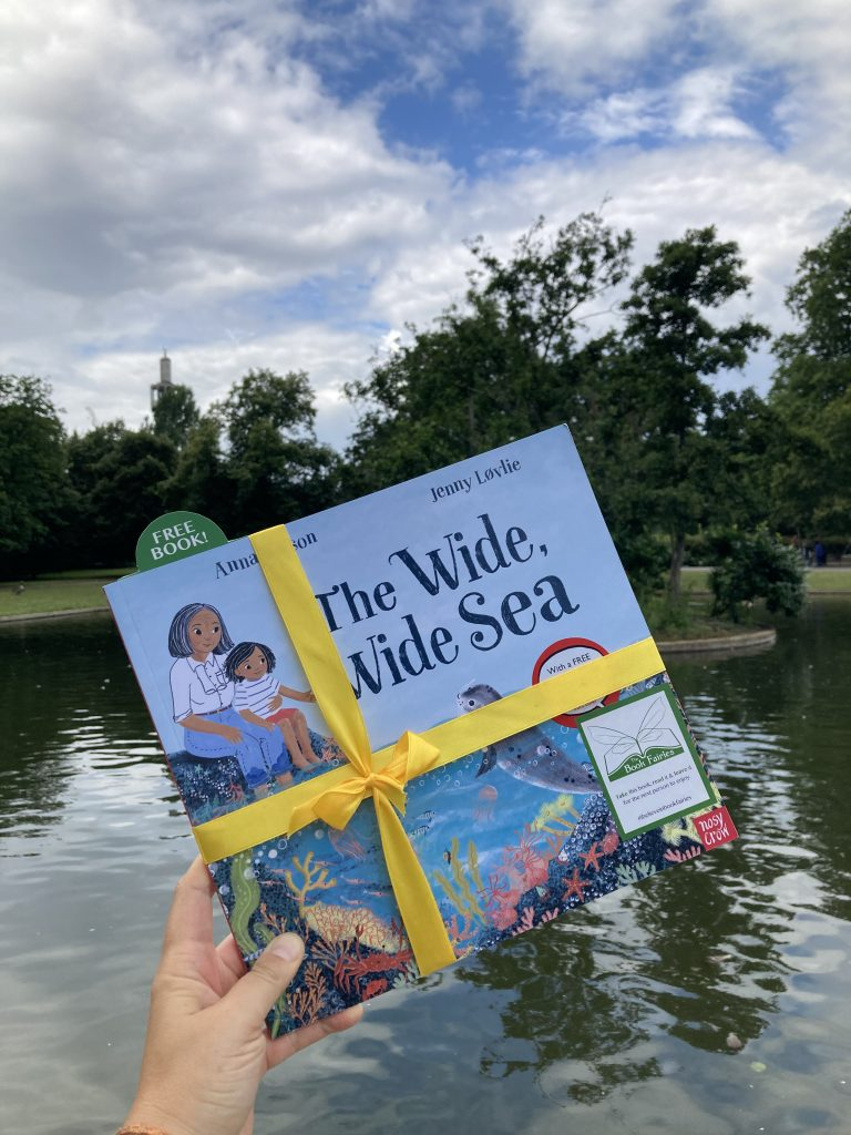 Book Fairies share The Wide, Wide Sea from Nosy Crow and The National Trust at a London park