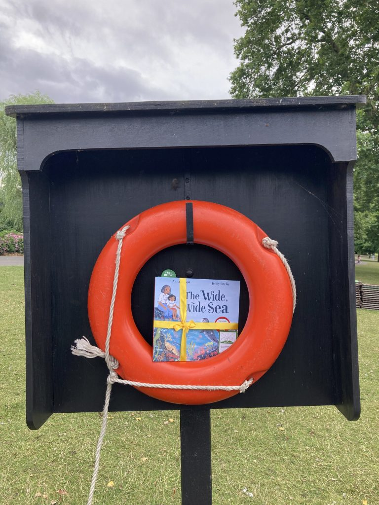 Book Fairies share The Wide, Wide Sea from Nosy Crow and The National Trust at Regent's Park London