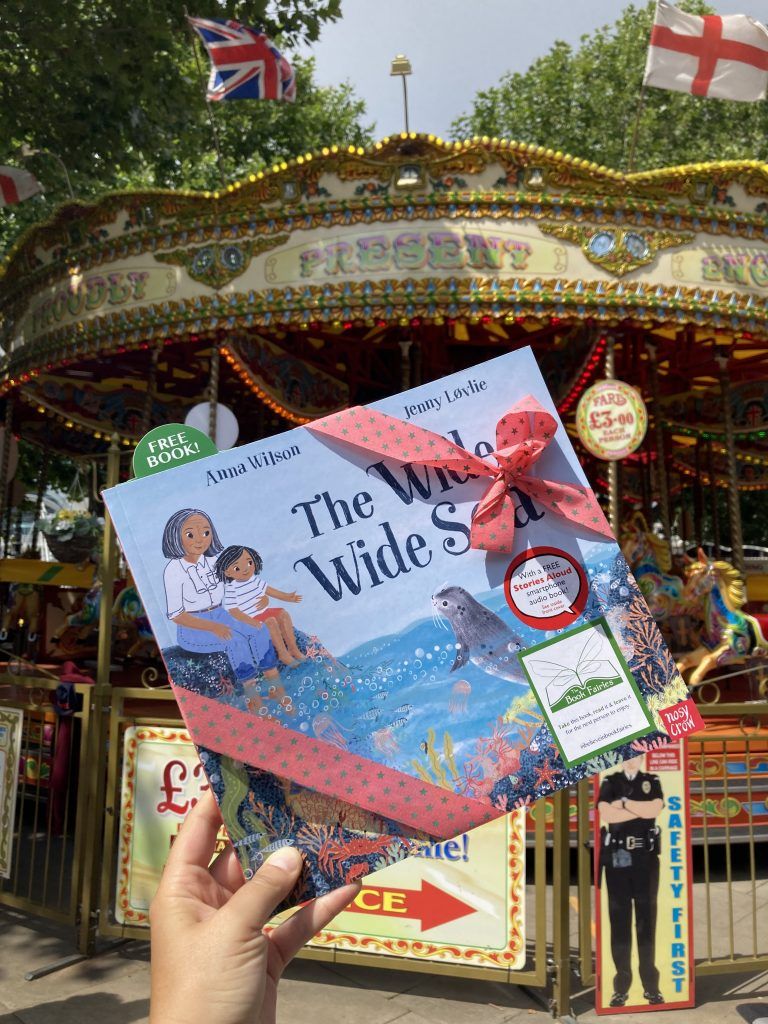 Book Fairies share The Wide, Wide Sea from Nosy Crow and The National Trust on the South Bank