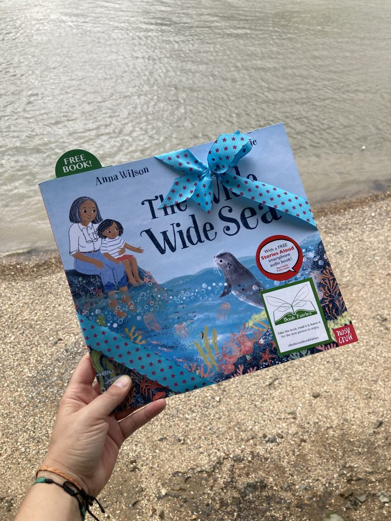 Book Fairies share The Wide, Wide Sea from Nosy Crow and The National Trust in London