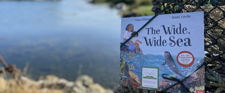 Book Fairies share The Wide, Wide Sea from Nosy Crow and The National Trust in Scotland
