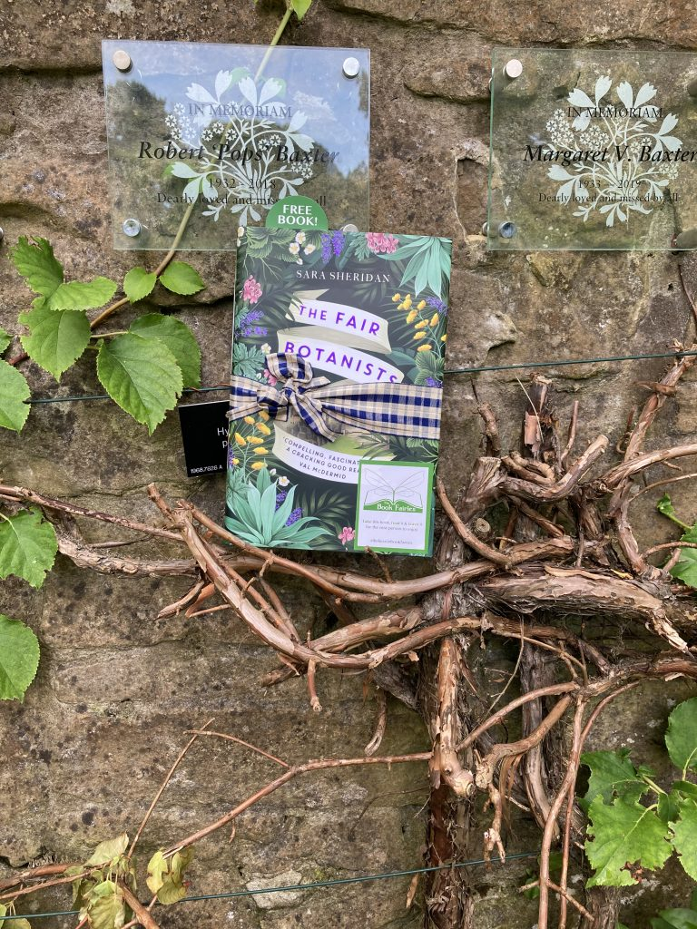 The Fair Botanists makes an early release with The Book Fairies at the botanic gardens Edinbugh