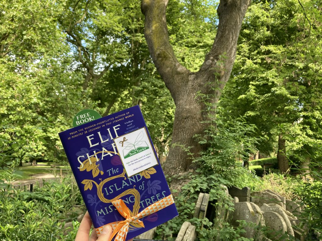 The Book Fairies share The Island of Missing Trees by Elif Shafak at The Hardy Tree in London