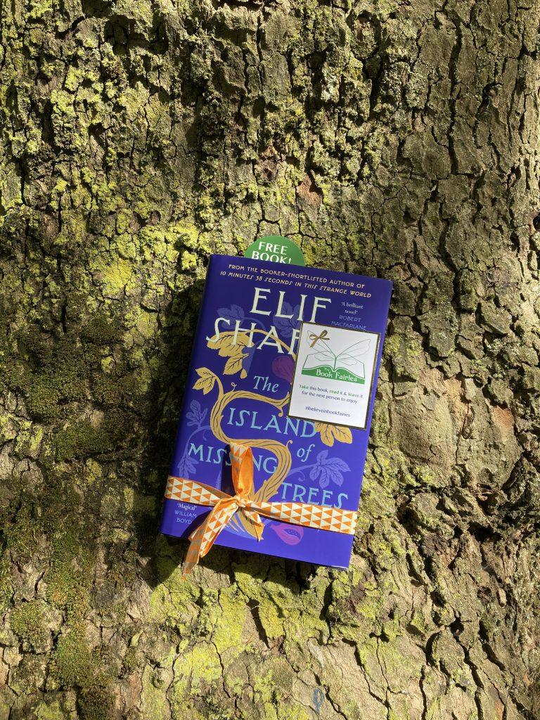 The Book Fairies share The Island of Missing Trees by Elif Shafak in London
