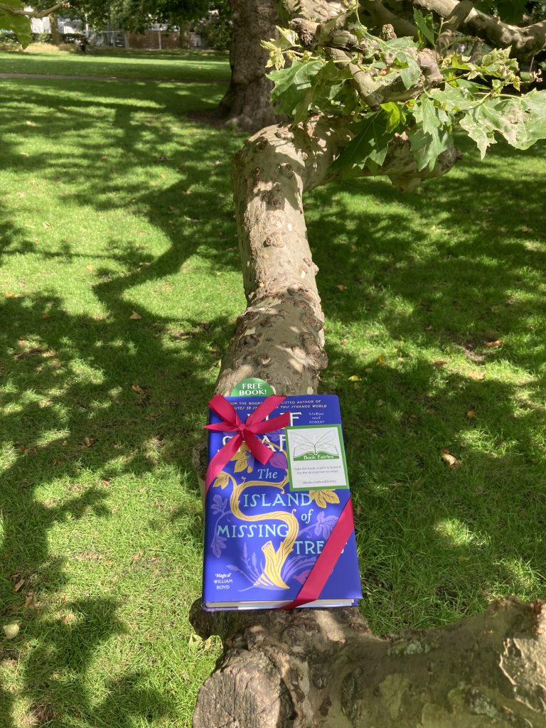 The Book Fairies share The Island of Missing Trees by Elif Shafak in Brunswick Park London