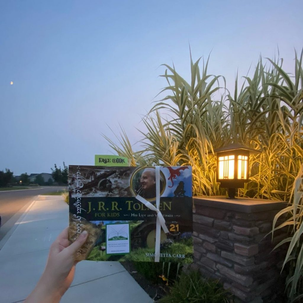 The Book Fairies share copies of J. R. R. Tolkien For Kids in Idaho