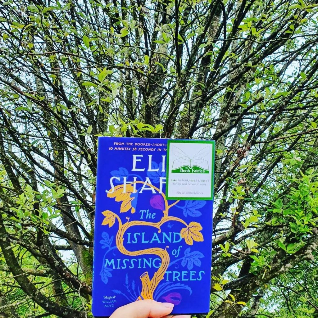 The Book Fairies share The Island of Missing Trees by Elif Shafak in Wales