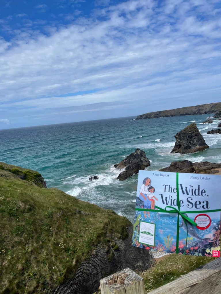 Book Fairies share The Wide, Wide Sea from Nosy Crow and The National Trust in Cornwall