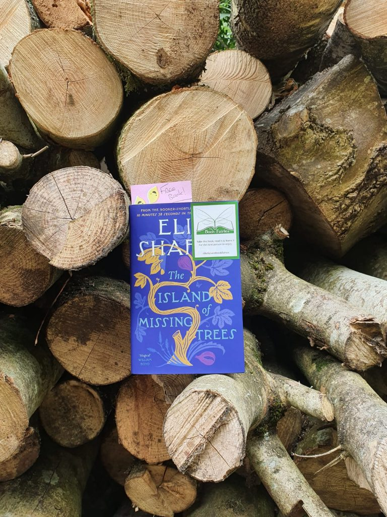 The Book Fairies share The Island of Missing Trees by Elif Shafak in South Wales