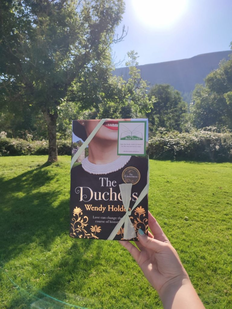 The Duchess by Wendy Holden is hidden by book fairies - Wales