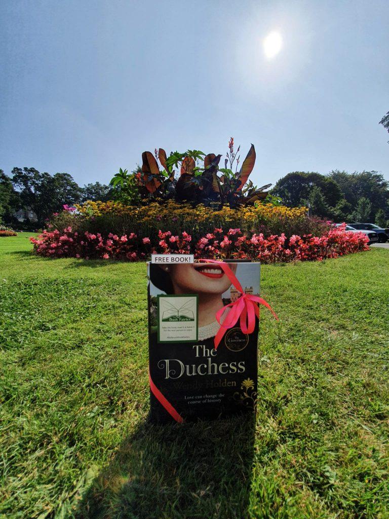 The Duchess by Wendy Holden is hidden by book fairies - Harrogate