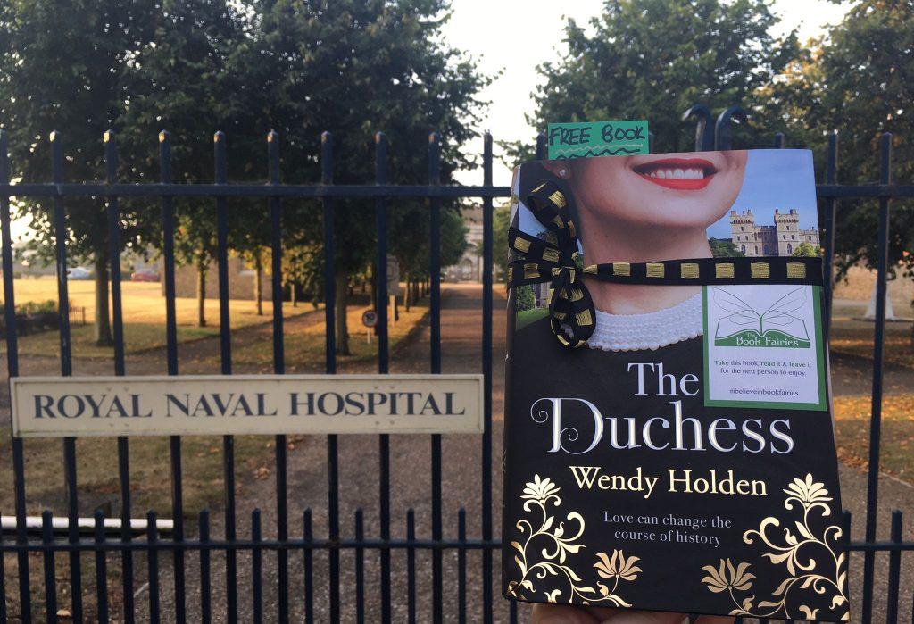 The Duchess by Wendy Holden is hidden by book fairies - Norfolk