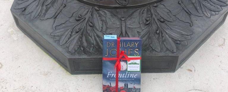 The Book Fairies share copies of Frontline by Dr Hilary Jones - hidden