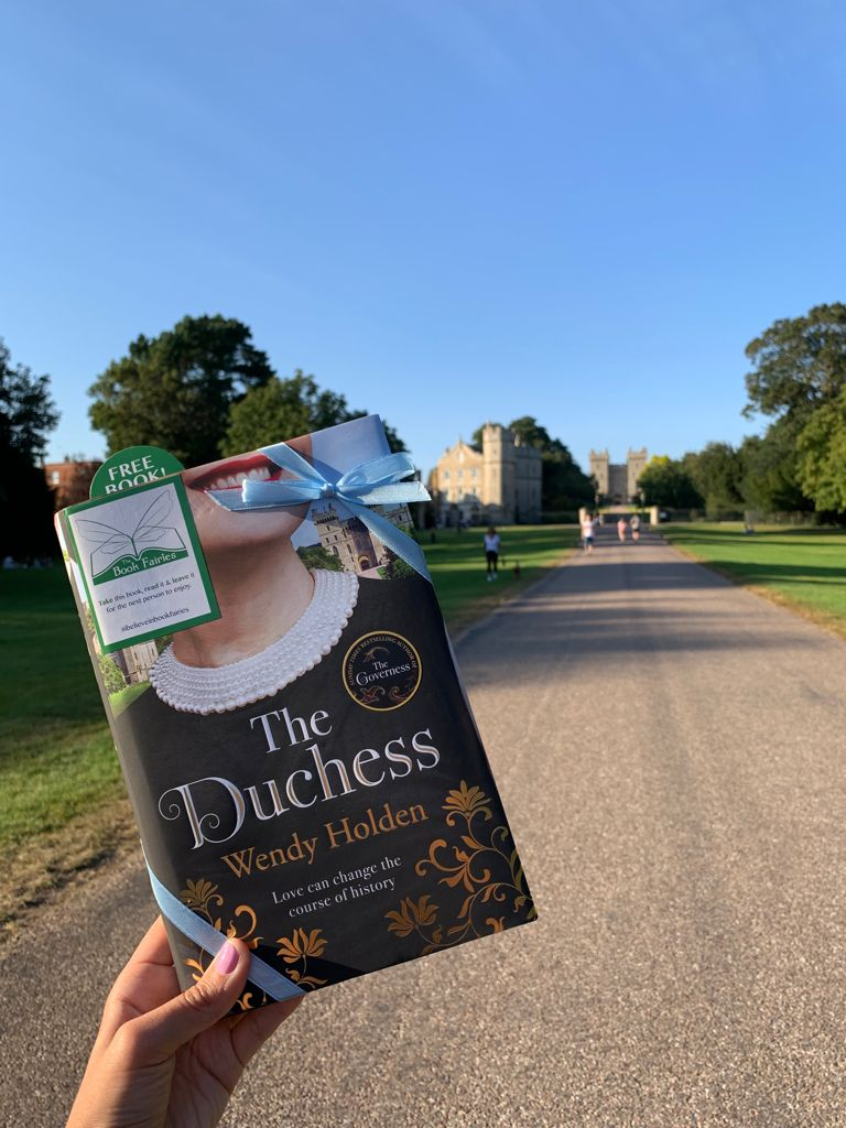 The Duchess by Wendy Holden is hidden by book fairies - Windsor Castle