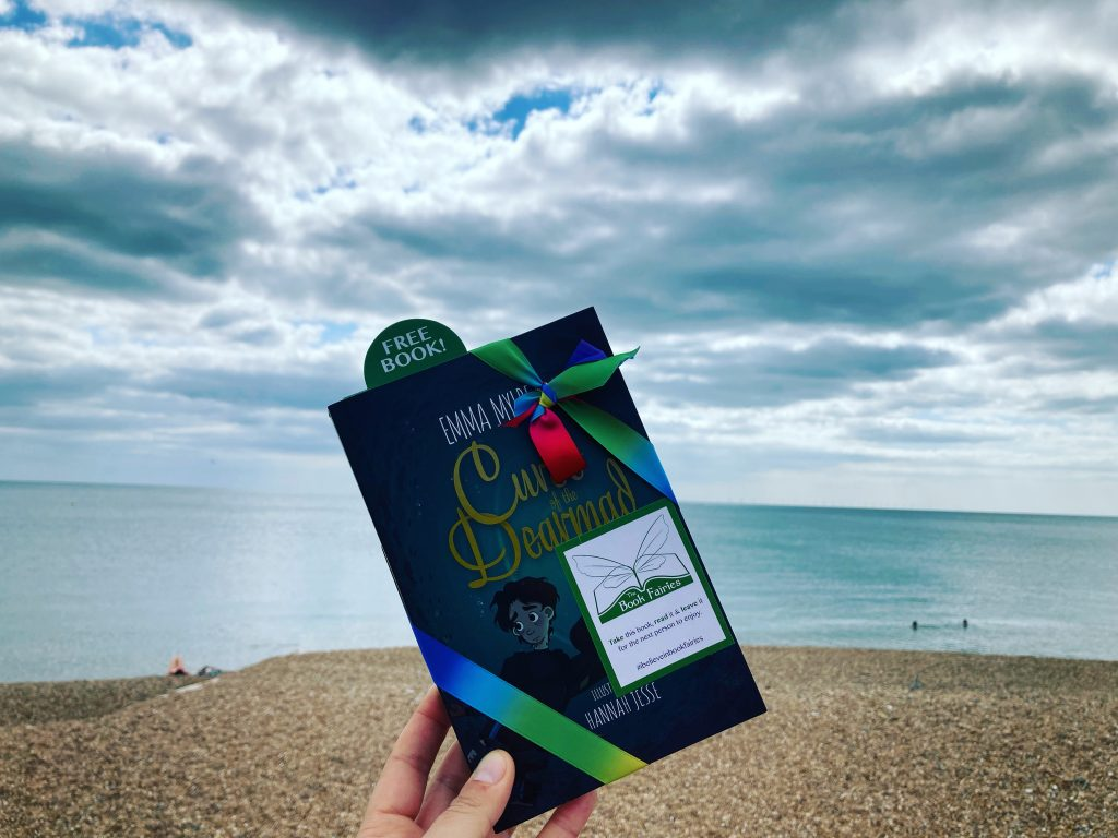 Curse of the Dearmad by debut author Emma Mylrea is shared by The Book Fairies in Brighton