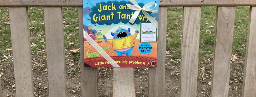 Jack and the Giant Tantrum hidden by The Book Fairies in London