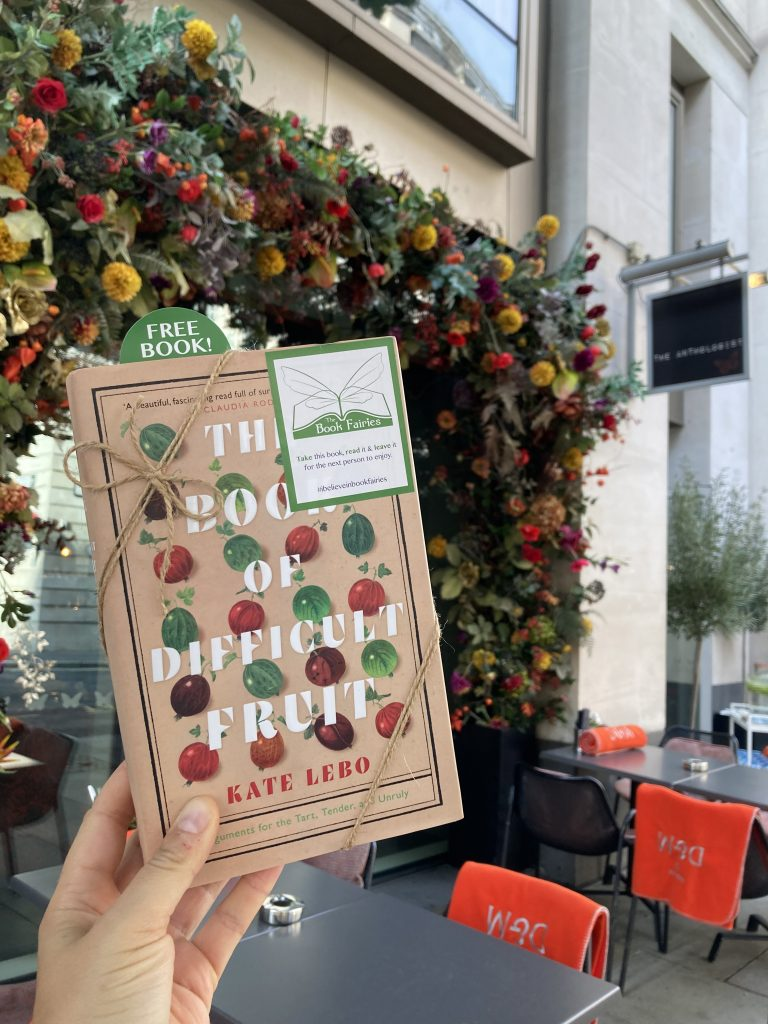 The Book Fairies teamed up with Drake & Morgan for new menu - The Book of Difficult Fruit