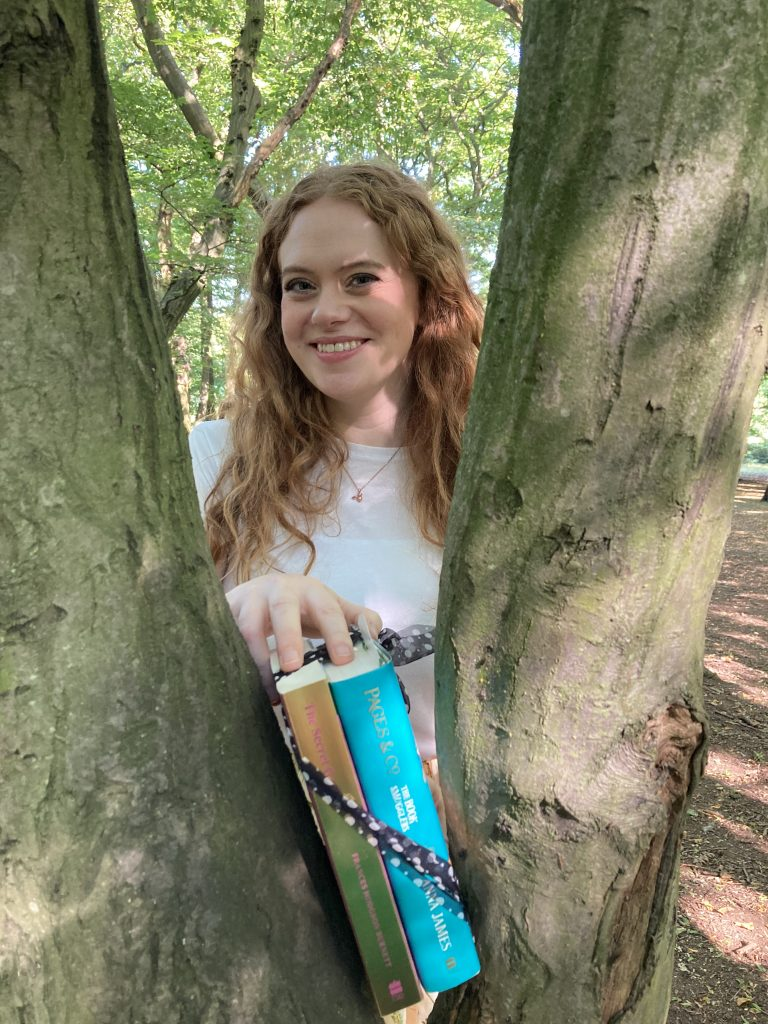 Anna James becomes Book Fairy for a Day with new book Pages and Co: The Book Smugglers - author event