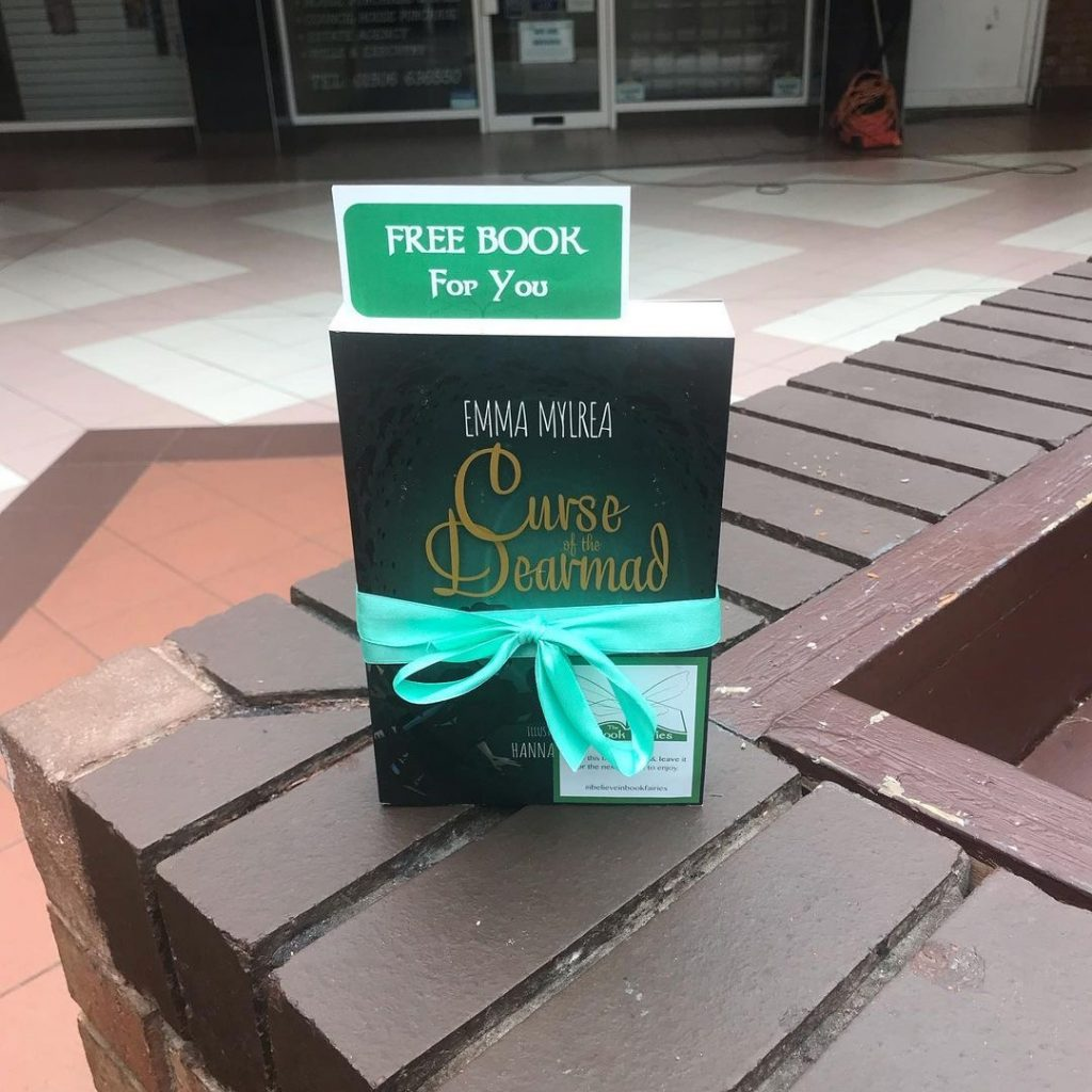 Curse of the Dearmad by debut author Emma Mylrea is shared by The Book Fairies in West Lothian