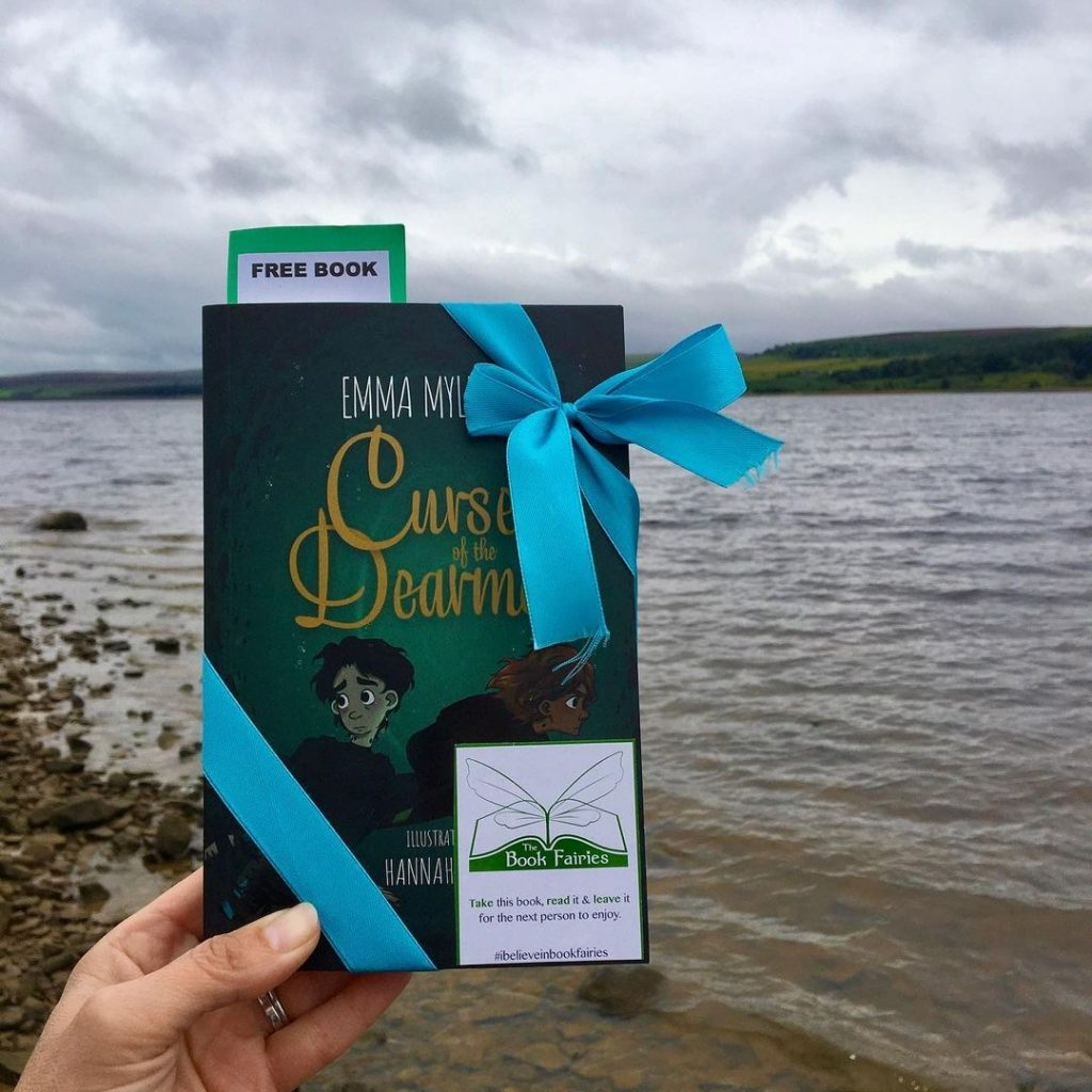 Curse of the Dearmad by debut author Emma Mylrea is shared by The Book Fairies in Scotland
