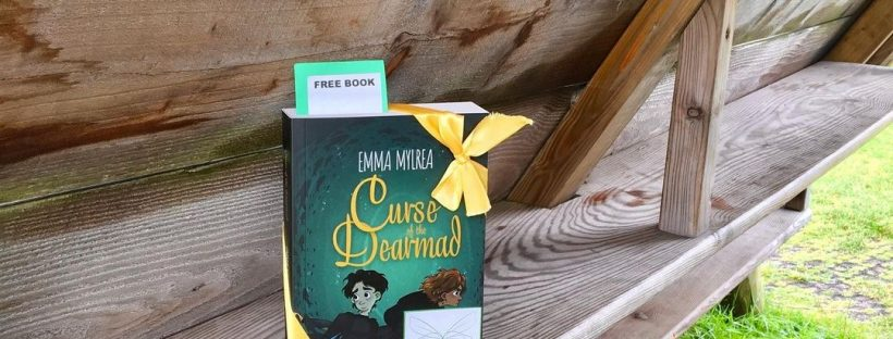 Curse of the Dearmad by debut author Emma Mylrea is shared by The Book Fairies in England