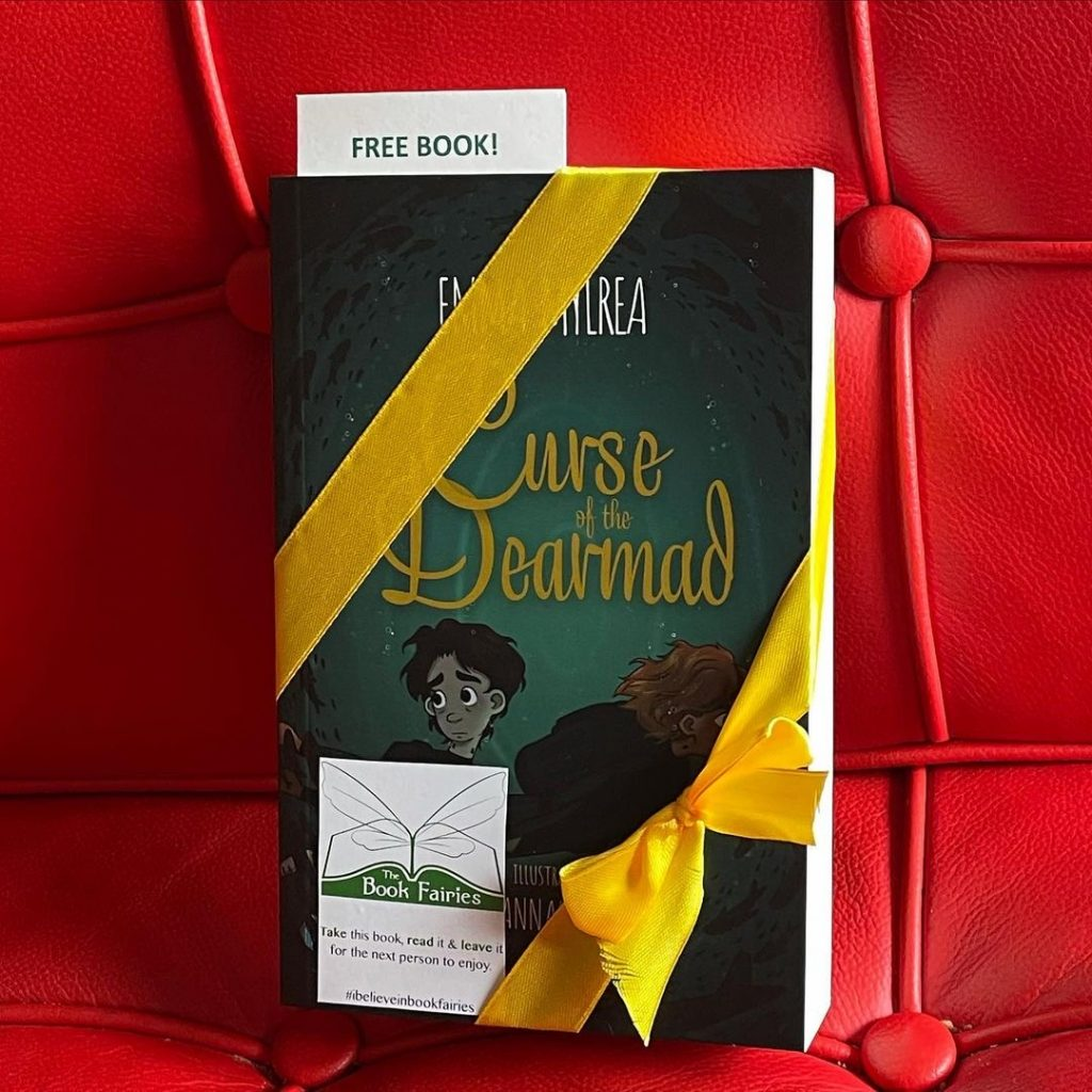 Curse of the Dearmad by debut author Emma Mylrea is shared by The Book Fairies at the cinema