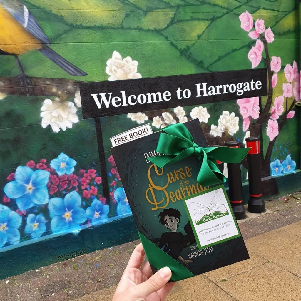 Curse of the Dearmad by debut author Emma Mylrea is shared by The Book Fairies in Harrogate