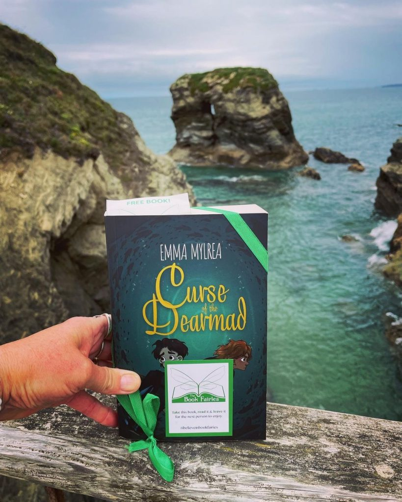 Curse of the Dearmad by debut author Emma Mylrea is shared by The Book Fairies in Cornwall