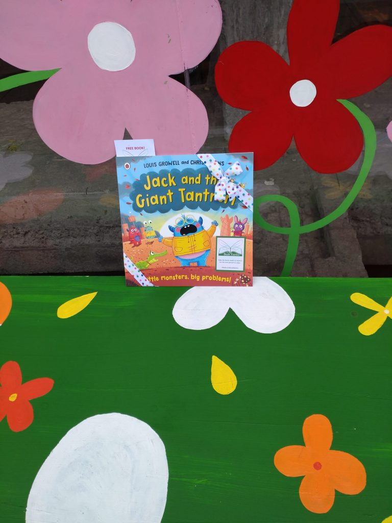 Jack and the Giant Tantrum hidden by The Book Fairies at playgrounds