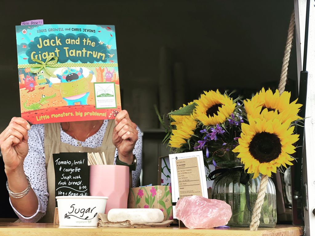 Jack and the Giant Tantrum hidden by The Book Fairies in Glasgow