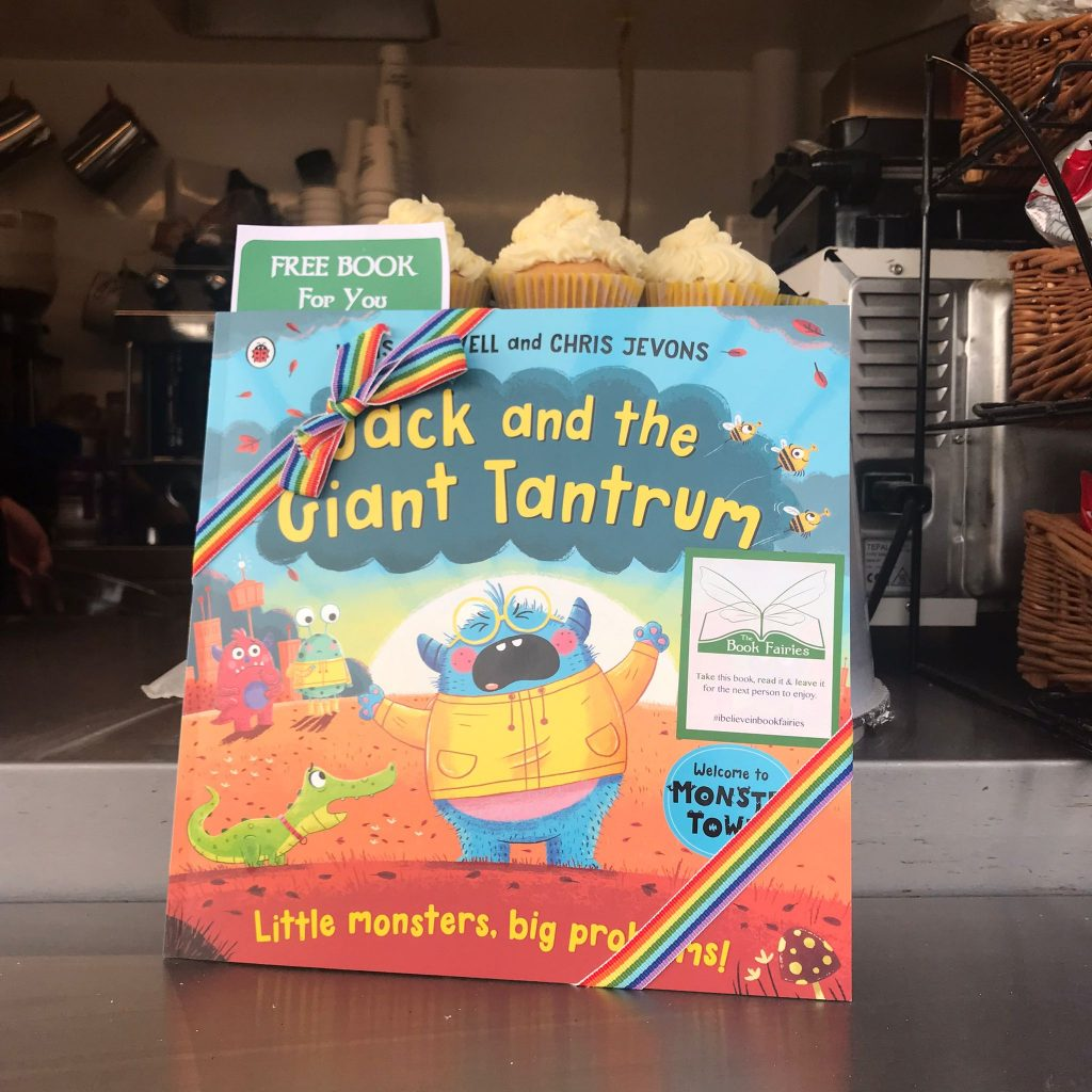 Jack and the Giant Tantrum hidden by The Book Fairies in West Lothian