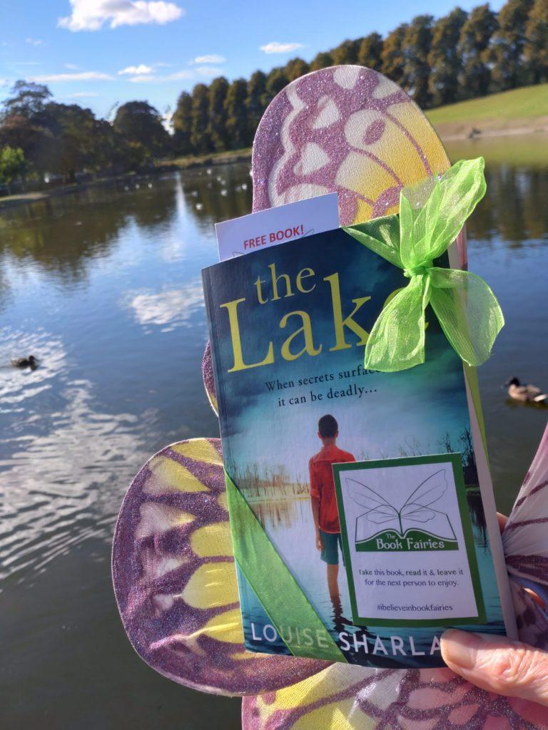 Book Fairies hide Avon Books around the UK - The Lake