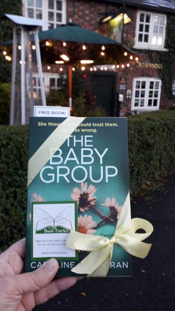 Book Fairies hide Avon Books around the UK - The Baby Group