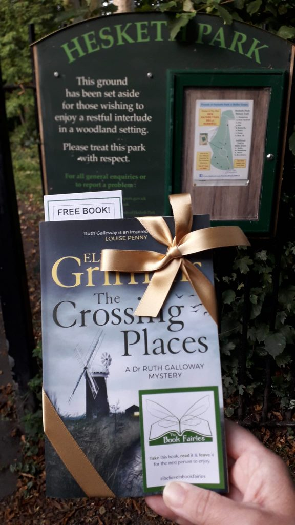 Book fairies hide Quercus books in the UK - Manchester