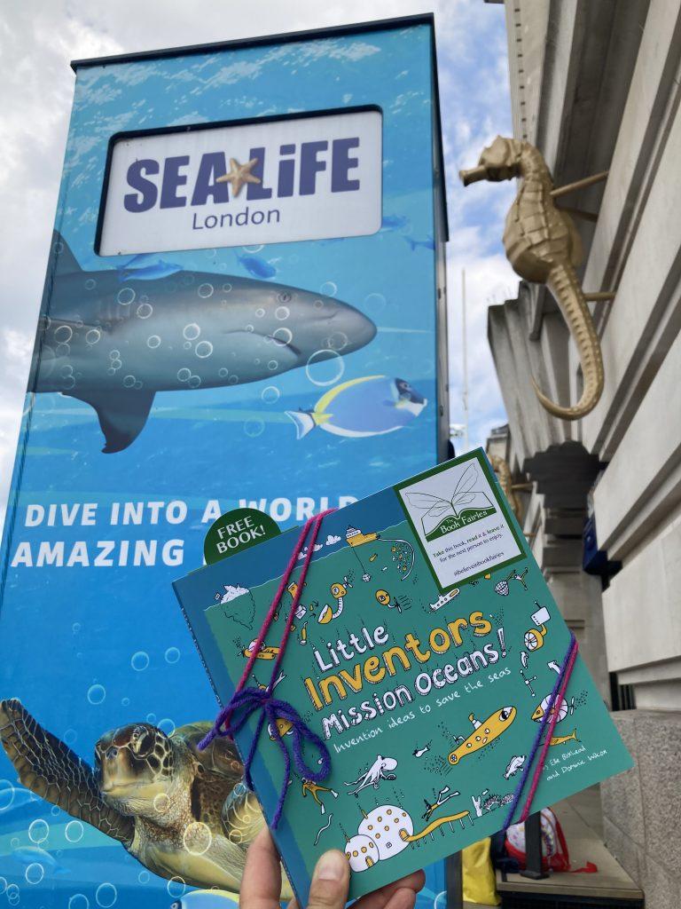 Little Inventors Mission Oceans hidden by book fairies - Sealife