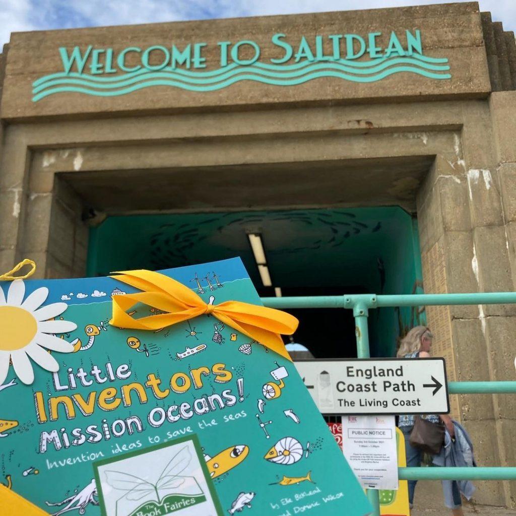 Little Inventors Mission Oceans hidden by book fairies - Saltdean