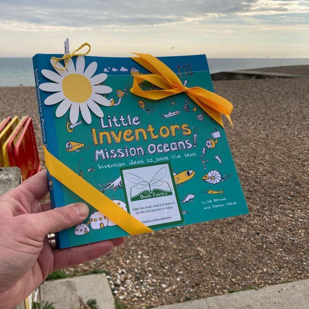 Little Inventors Mission Oceans hidden by book fairies - Brighton