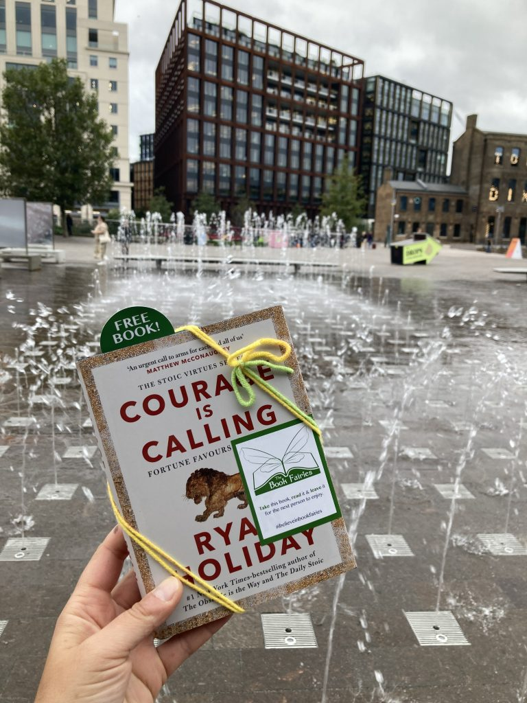 Courage is Calling by Ryan Holiday hidden by The Book Fairies - Kings Cross
