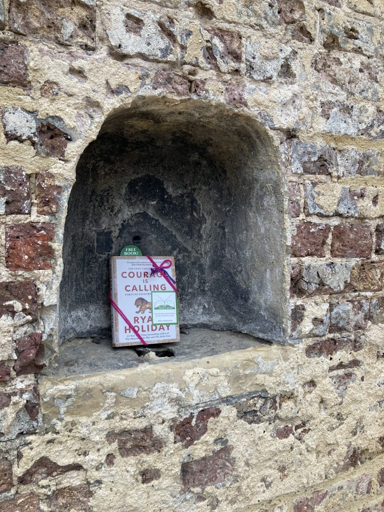 Courage is Calling by Ryan Holiday hidden by The Book Fairies- London