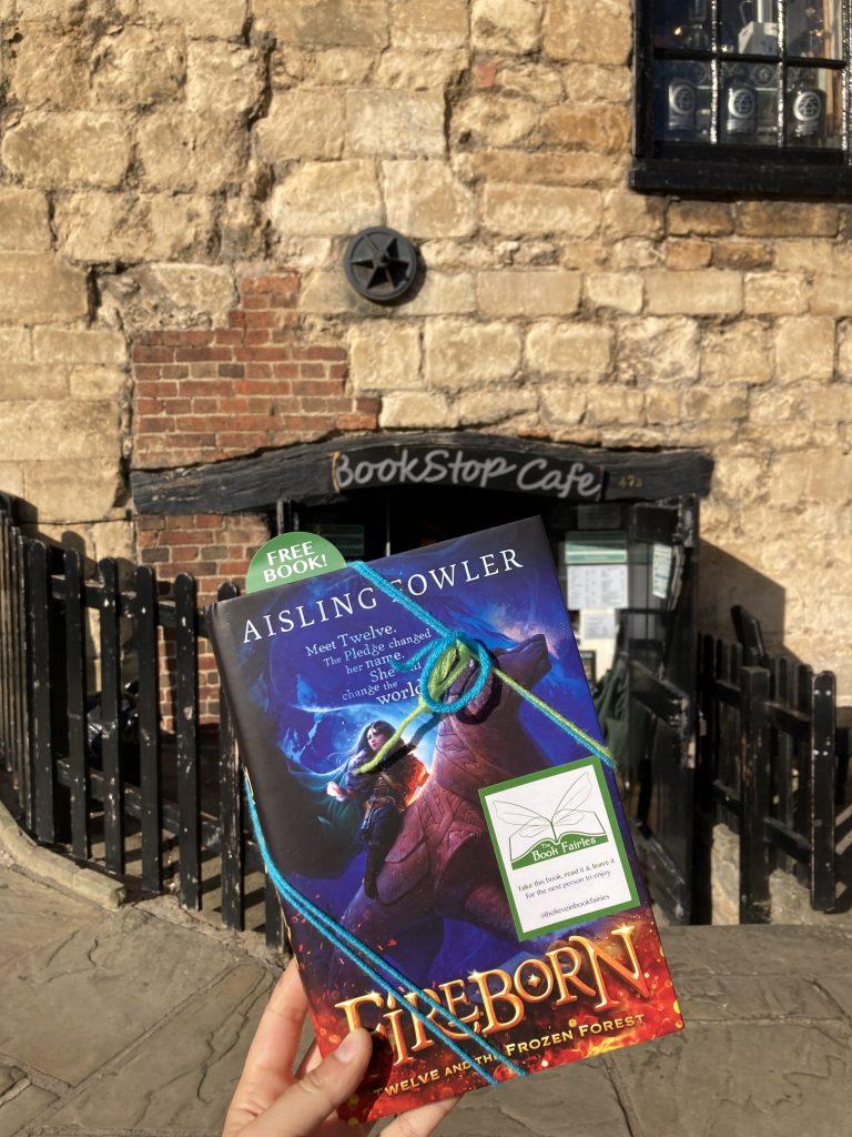 Fireborn by Aisling Fowler hidden by book fairies - book stop cafe